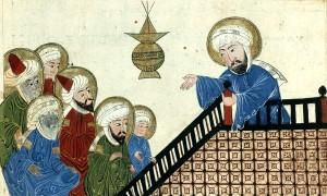 Représentations figurées de Mahomet dans la littérature islamique (clic)