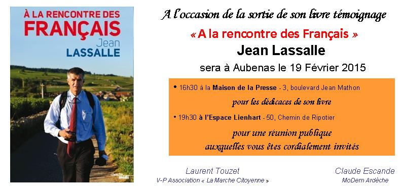 Carton Invitation J. Lassalle