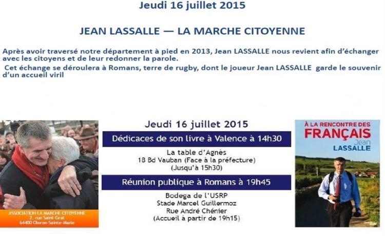 Jean Lassalle - Valence Romans